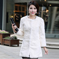 Full pelt real natural rabbit fur coat  good quality women's medium-long slim long-sleeve plus size  female Free shipping