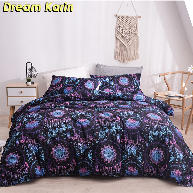 Modern Pastoral Bedding Sets Duvet Comforter Cover Set With Pillowcases Quilt Covers Single Double Queen King Sizes Bedclothes