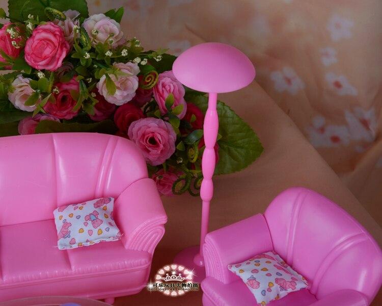 Roze Accessoires Woonkamer : Nieuwe poppen accessoires prinses roze simulatie meubilair