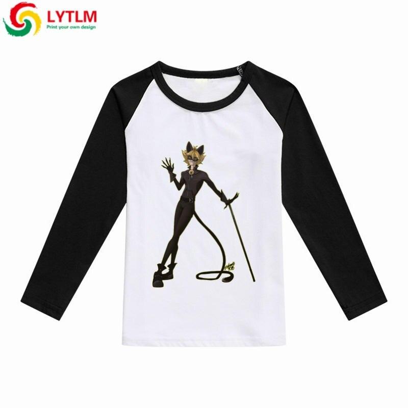 30a422dbb7a9b LYTLM Chat Noir Miraculous Ladybug Kids Clothes 2018 Fashion Top Boys T  Shirts 8 Years Baby Boy Clothing Tee Shirt Garcon Enfant