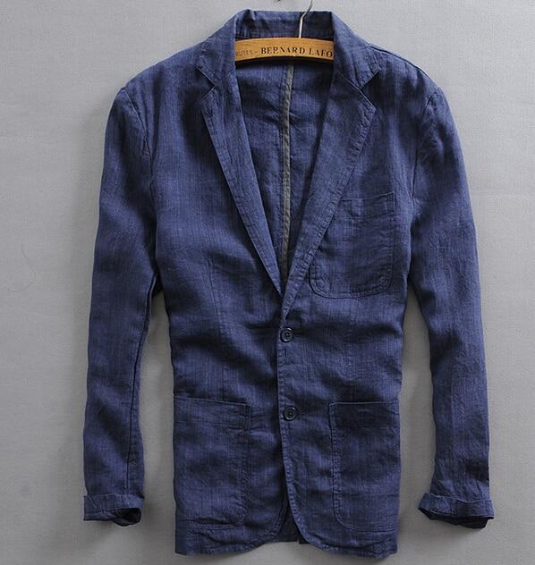 Popular Linen Blazer Men-Buy Cheap Linen Blazer Men lots from ...