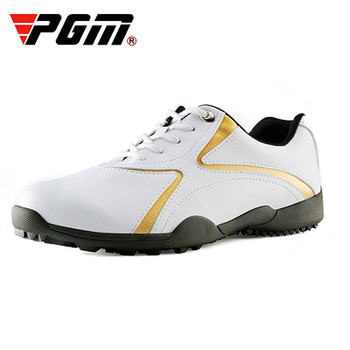 2018 PGM golf men's shoes Summer Microfiber Leisure Sports shoes for men Breathable Waterproof Anti-skid Sneakers Plus size
