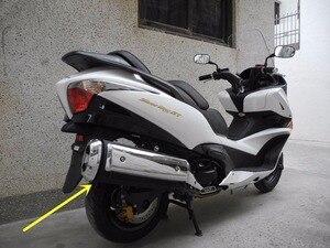 Image 5 - สำหรับ Honda SilverWing/GT 600/400 รถจักรยานยนต์ล่องเรือสกูตเตอร์ชุบท่อไอเสียฉนวนกันความร้อนฝาครอบท่อไอเสียท่อท่อไอเสียฝาครอบ