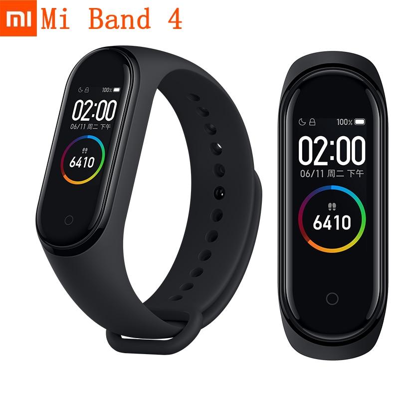Stock Xiaomi Mi Band 4 Original 2019 Newest Music Smart Miband 4 Bracelet Heart Rate Fitness