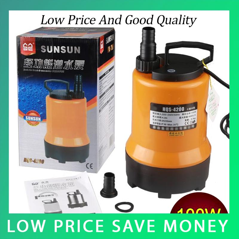 220V 50HZ Big Capacity Household Submersible Pond Marine Pump