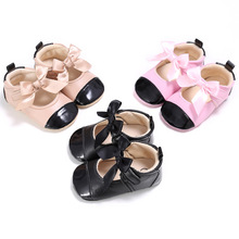 Baby Girls Kids Shoes Crib Mary Jane First Walkers Infant Bebe Soft Soled Mixed Color Princess Wedding Party Prewalkers Shoes