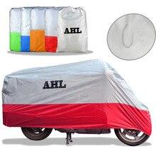 5 Colors Motorcycle Cover Outdoor Waterproof Dustproof UV / Dust Resistant/ Prevention Scooter Racing Motocross Bike Covering