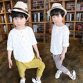 DFXD New Spring Boys Clothing Set Cotton Long Sleeve Print Casual Shirt Harem Pant 2pc Set Toddler Boys Clothing Kids Set 18M-6T