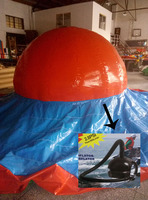 factory price inflatable sports game for kids/2017 outdoor playground inflatable game