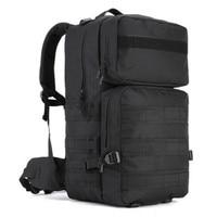55L Men Military Backpack Women Casual Laptop Back Bag Large Capacity Male Travel Rucksack Nylon Black Army Backpack 2017