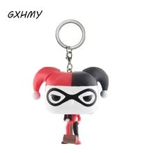 Esquadrão suicida Harley Quinn Coringa Estilo Figuras de Ação Crianças Brinquedo Keychain Com Caixa de Varejo