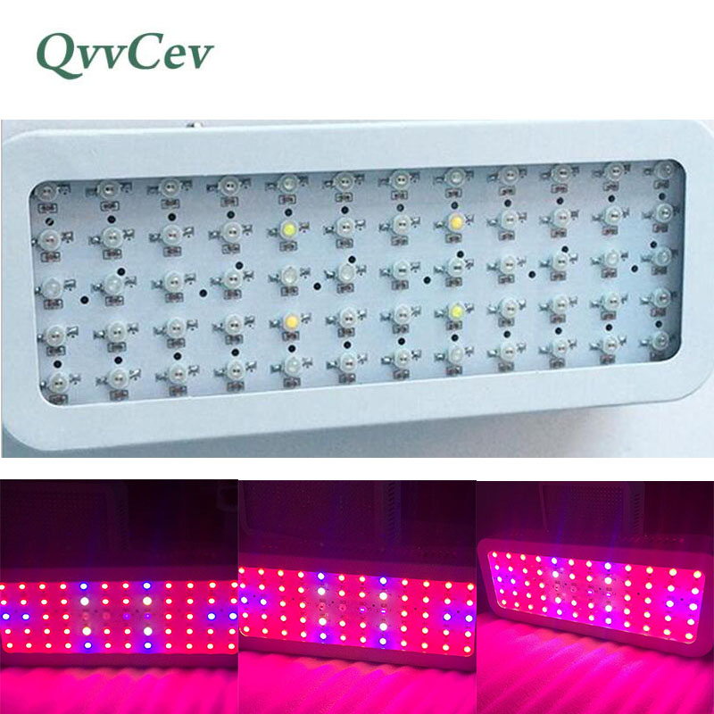 600W 60leds Plants Growing Light Plant Grow Lamp Bulb Full Spectrum 85-265V lighting for Indoor Greenhouse Hydroponics Vegetable 90w ufo led grow light 90 pcs leds for hydroponics lighting dropshipping 90w led grow light 90w plants lamp free shipping