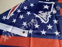 New England Patriots US flag with star and stripe 3x5 FT Banner Polyester NFL flag 5