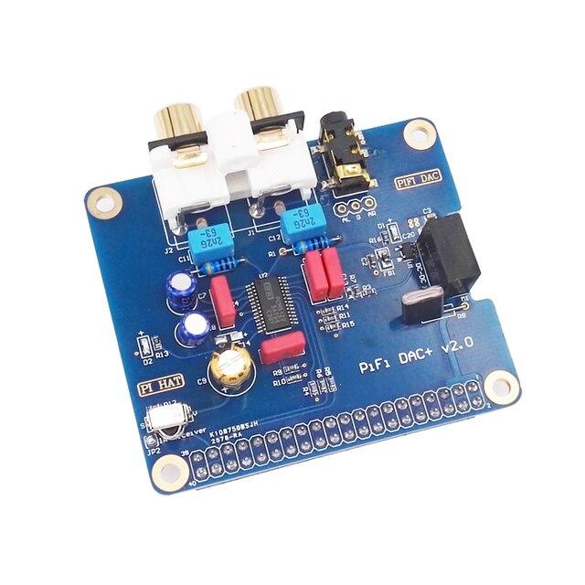 Малиновый Пирог 3 специальный HIFI ЦАП + карта интерфейс I2S pifi ЦАП + V2.0
