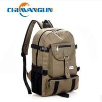 Fashion Casual Bag Male Backpack School Bag Canvas Bag Male Backpack Male Package