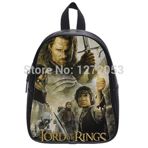 7056b9d698e6 Brand New Lord of the Rings Custom Backpack Schoolbag (Large) for Students with  Black Color U4678346 Free Shipping