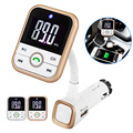 New Handsfree LCD Car Wireless Bluetooth Kit SD Card Mp3 Player Cars Charger FM Transmitter Remote Control BT67