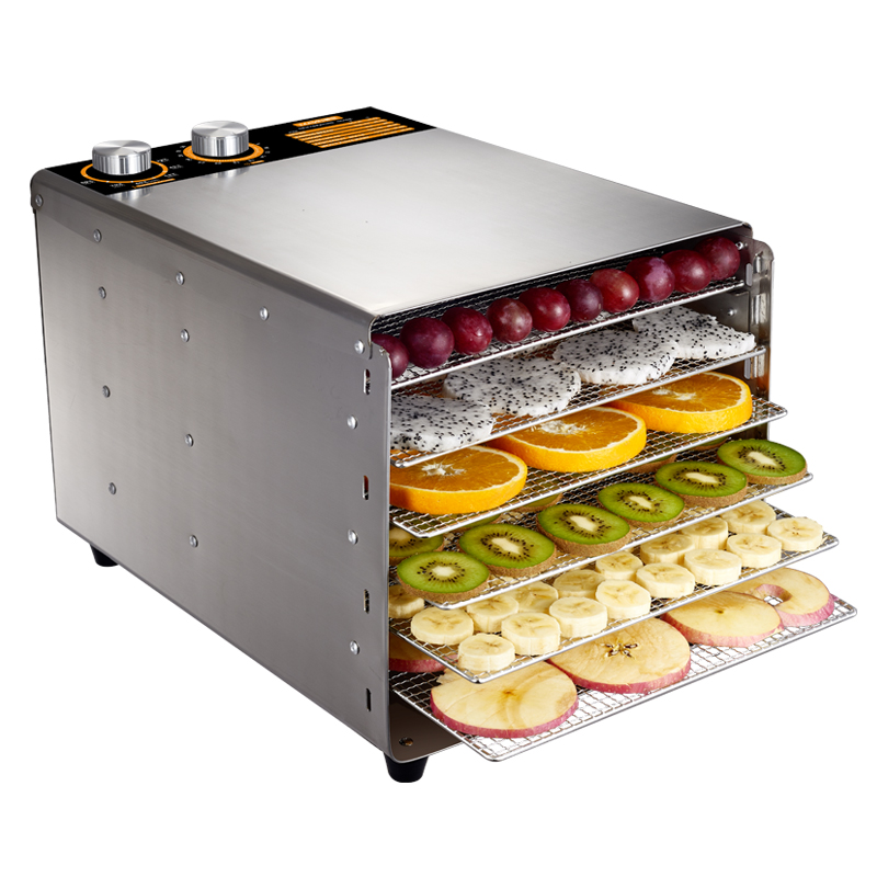 Dehydrators fruit drying for dryer vegetables 6 layer Stainless Steel
