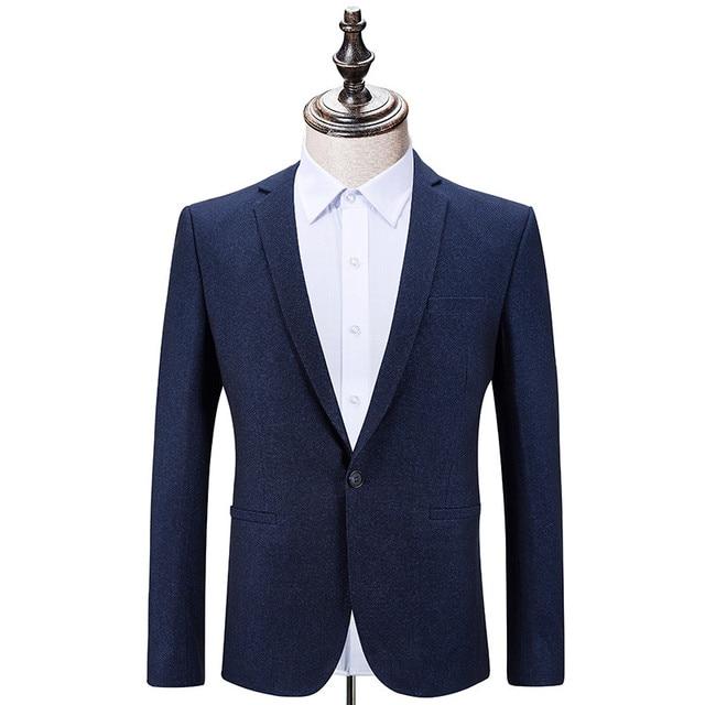 No-hierro Trajes para hombres caballeros negocios vestido casual trabajo Trajes  hombres chaqueta delgada moda e6e81a68f1c