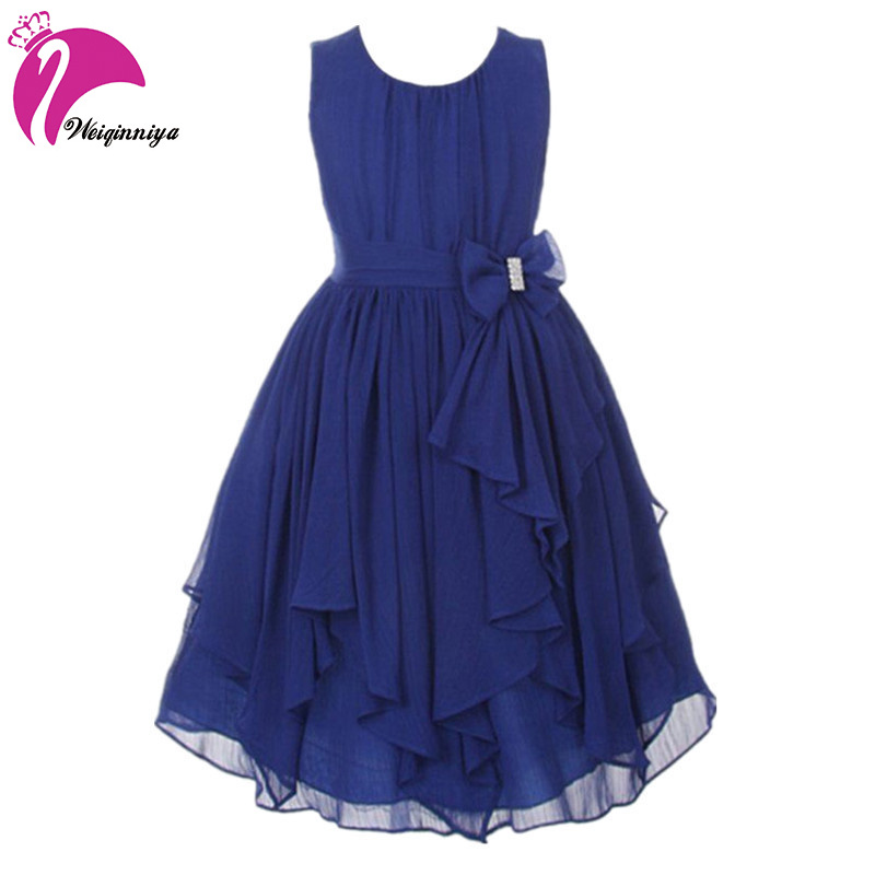 Children Girls Dress New 2017 Summer Fashion Sleeveless Party Weeding Dress Kids Casual Brand Vestido Infantil Clothes Hot summer girls florwer dresses new design 2016 casual cotton sleeveless kids clothes lovely party vest dress infantil vestido hot