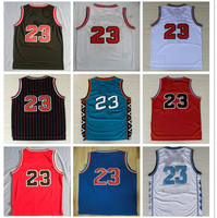 Top Quality 23 Retro Basketball Jersey Uniforms Sports Basketball Shirts Stitched Men and Kids Size