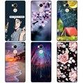 Feliz casos para Xiaomi Redmi 4 Pro colorido caso para Xiaomi Redmi 4 Pro primer (alta) impresión de silicona protectora de la cubierta