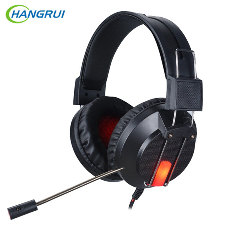 Cool Headband Gaming Headset Headphone with LED Light Super Bass Earphones with mic gaming headphones For Computer PC Gamer экшн камера sjcam sj360