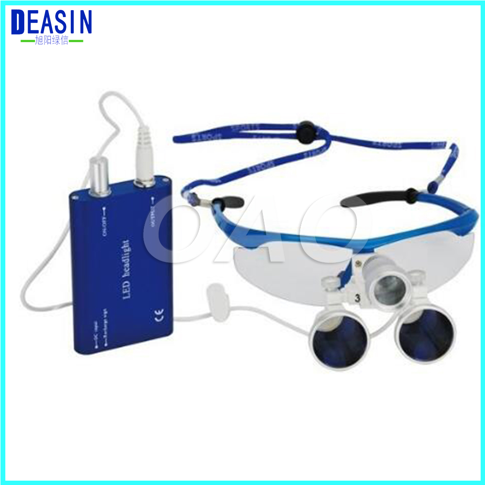2018 Deasin 2.5X 3.5X Magnification Surgical Operation Dental loupes/Dental surgical magnifying glass/Dental surgical loupes free shipping dental loupes 6 times 5 times 4 times doctor s surgery magnifying glass surgical orthopedic spine
