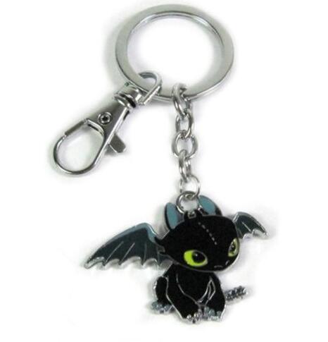 Винтаж черный Night зла брелок в виде дракона для ключей автомобиля Подвески ключей сувенирное кольцо подарок парные брелки для ключей ювелир...