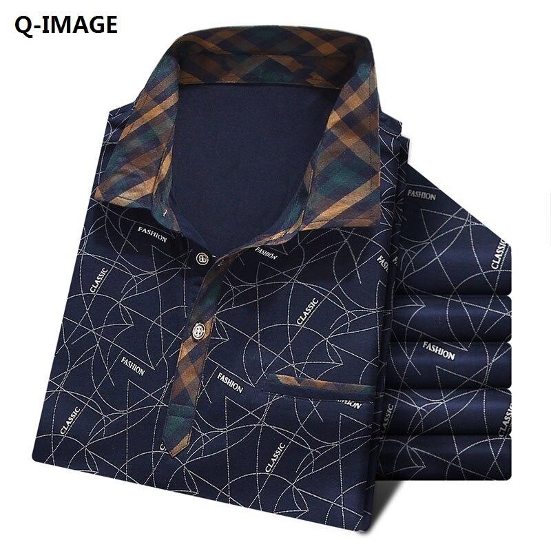 Q-IMAGE 2017 New Fashion Short Sleeve Polo Shirt The trend ...