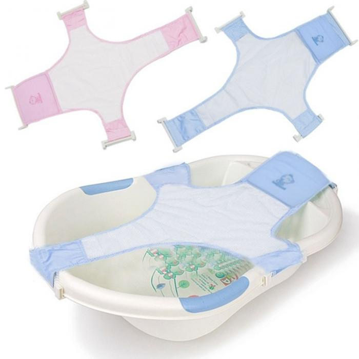New Fashion Real Adjustable Baby Bathtub Bath Tub Rings Seat Newborn ...