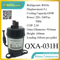 R410a compressor (650W cooling capacity) suitable for refrigerator and freezer