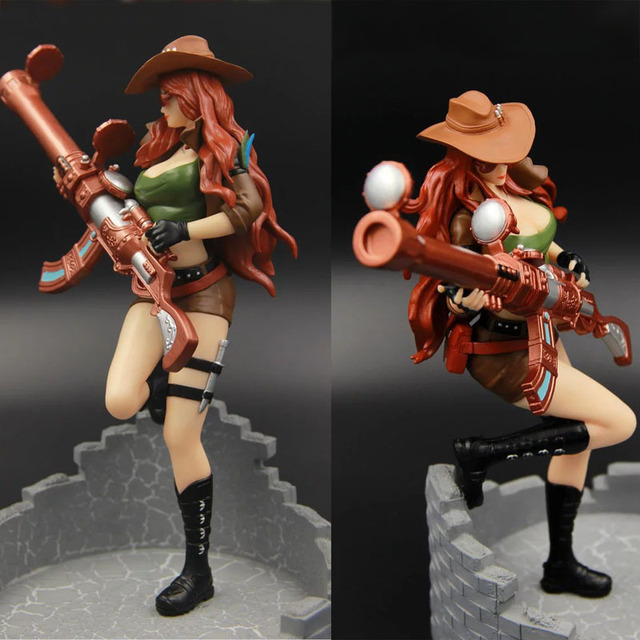 LOL League of Legends figure Action Game Caitlyn Sheriff of Piltover Character Model Toy action 3D Game Heros anime party Gift 1