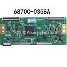 free shipping Good test T-CON board for V6 32/42/47 FHD 120HZ 6870C-0358A VER1.0(China)