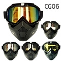 Hot Promotion Motorcycle Mask Gafas Motocross Goggles Fitting Open Face Capacetes Casco or Vintage Helmets