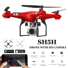 Drones With Camera HD 1080P WIFI Real Time Video Altitude Hold Headless One Key Return FPV Racing Dron RC Quadcopter With Camera fpv cheerson cx 30w cx30w 4ch 2 4ghz quadcopter with real time video hd camera rc helicopter professional drones dron