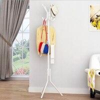 Steel Pipe+plastic hanging Coat Hat scarf Metal Rack Organizer Hanger Hook Stand for Purse Handbag Clothes umbrellas #1127