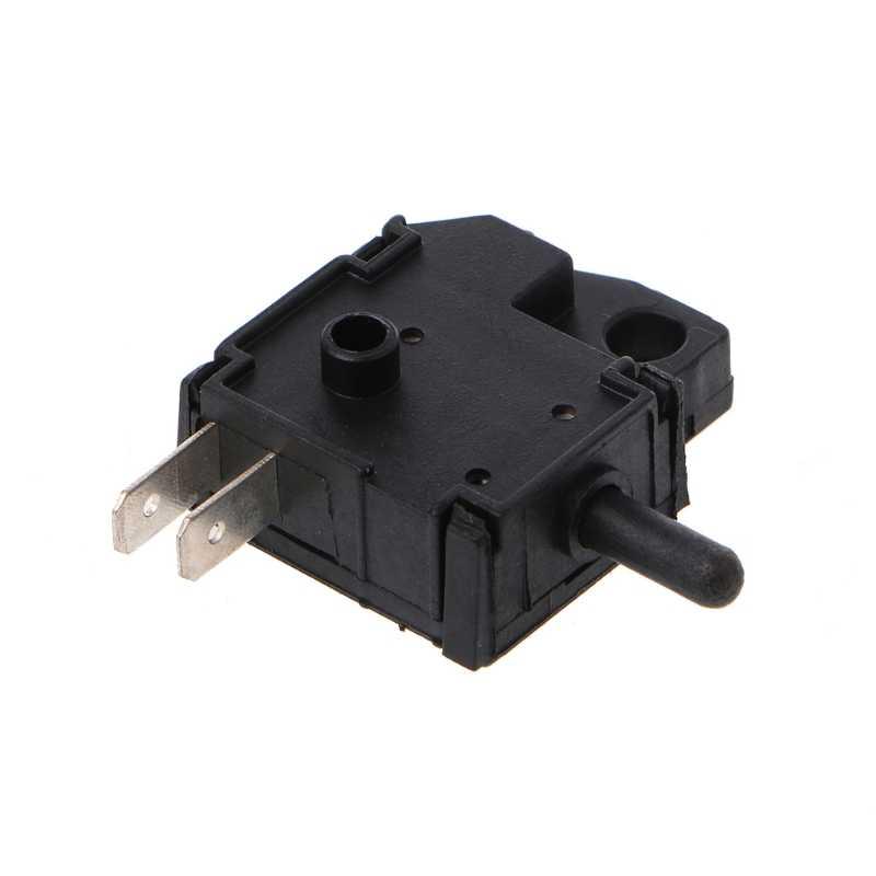 Interruptor de luz de freno de repuesto Universal interruptor delantero derecho de la palanca de freno interruptor de luz de freno para Pit Quad bicicleta ATV