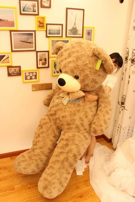 Fancytrader 67\'\' 170cm JUMBO Huge Giant Plush Stuffed Teddy Bear, 3 Colors Available, Free Shipping FT90345 (3)