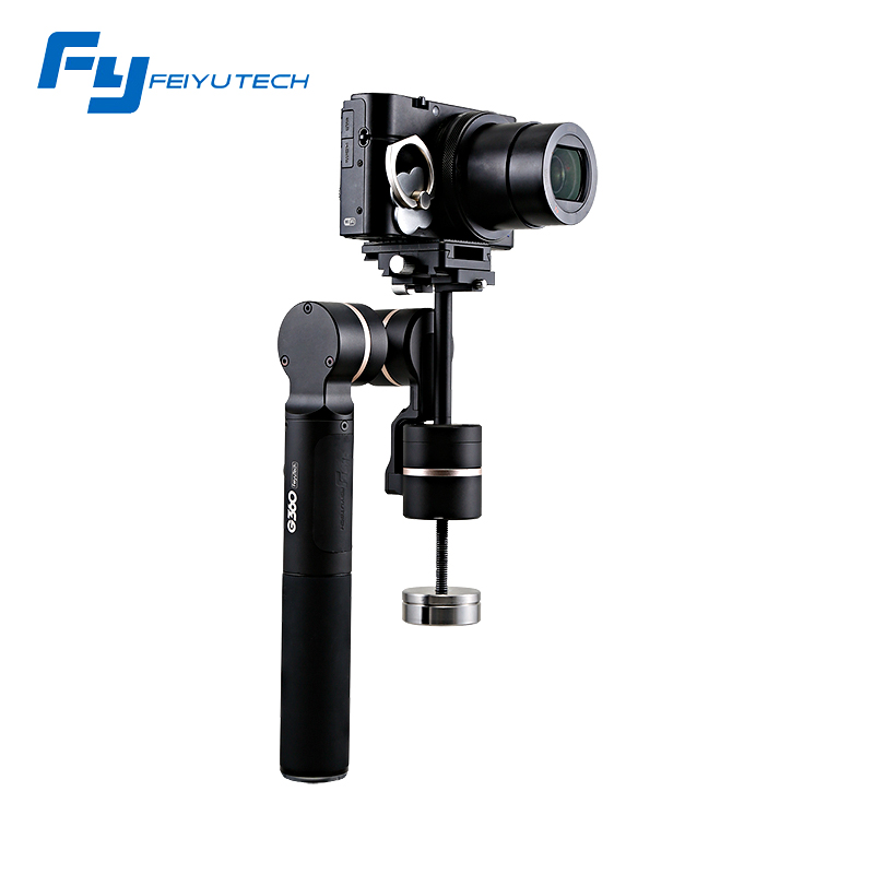 Feiyu Tech G360 Camera Stabilizer Handheld Gimbal 360 for Panoramic / Smartphones for Gopro Action Cameras APP Control F20474 feiyu tech g360 panoramic camera stabilizer handheld gimbal 360 for smartphones gopro action cameras app control f20474