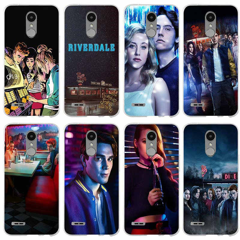 Phone Cases Soft TPU Silicone Cover for LG G2 G3 Mini G4 G5 G6 K4 K7 K8 K10 2017 Nexus 5 5X V10 V20 V30 American Tv Riverdale