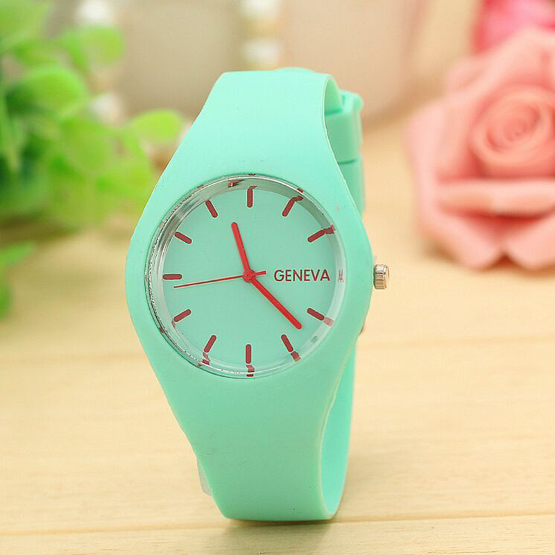 Fashion Silicone Watch Unisex Rubber Jelly Candy Women Men Quartz Watches Fashion Dress Watches hot sale jelly silicone rubber candy quartz watch wristwatches for women girls students pink white