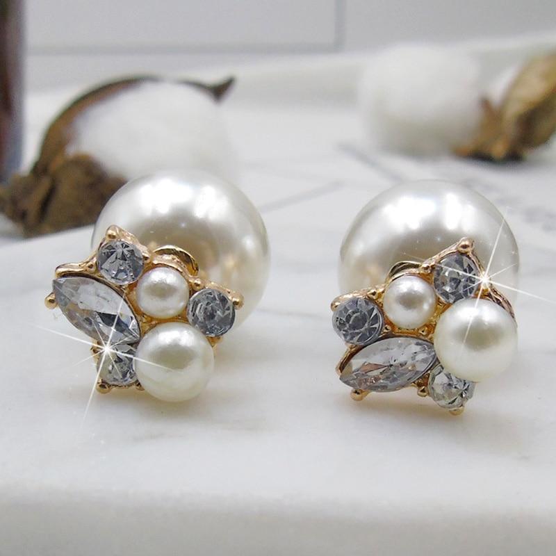 Նորաձևության անձի զարդեր Crystal Pearl - Նուրբ զարդեր - Լուսանկար 2
