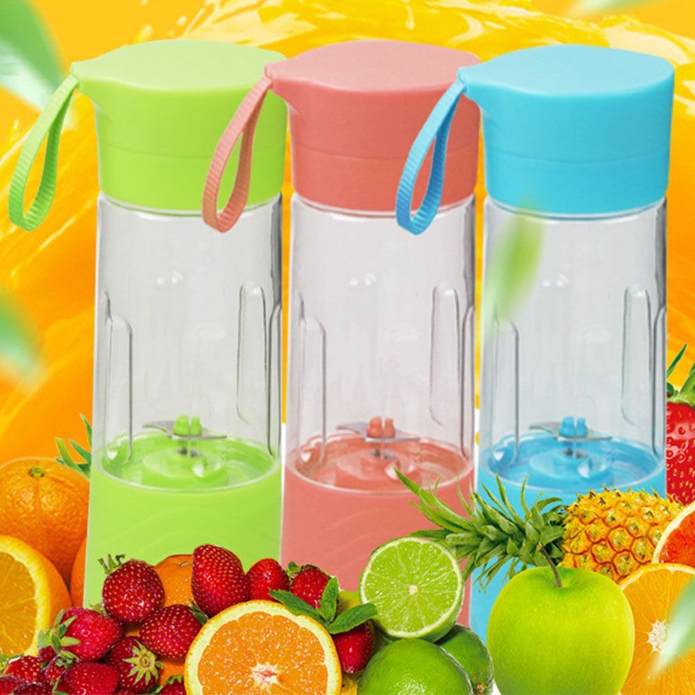 Glantop 380ML Battery Power Bottle Fruit Juicer Blender Self Stirring Mug Juice Iced Tea with Thin Belt portable blender mini mixer automatic self stirring mug