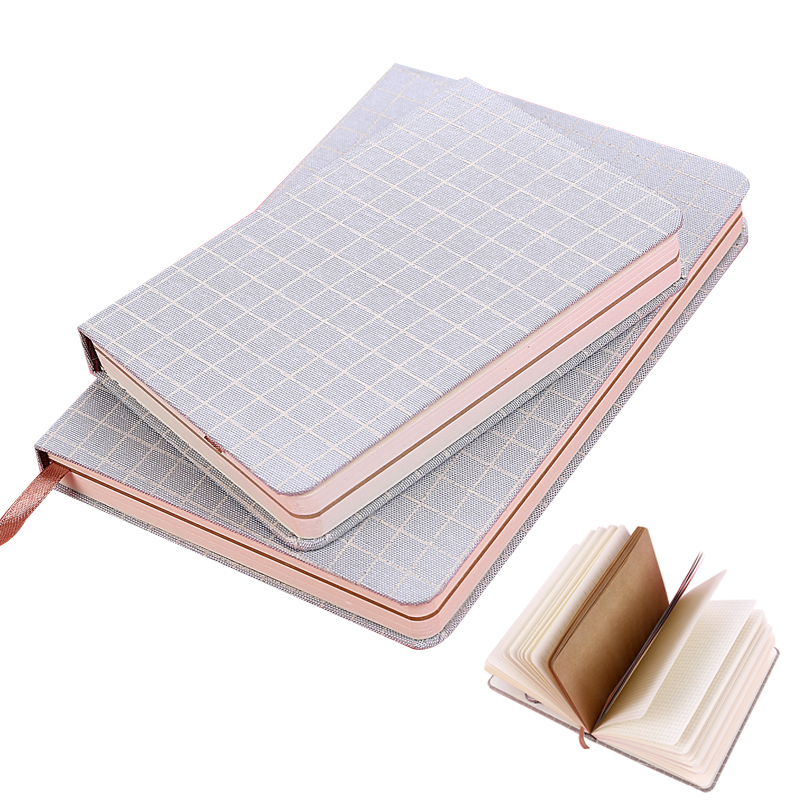 A5 A6 Notebook Travelers  Lined DOT Blank Grid Paper Journal Diary Sketchbook For School Supplies Stationery Store