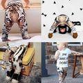 Muchachas de los bebés del patrón del tigre niños Harem pantalones niños niño Bottoms pantalones Sweatpant