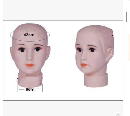 1 pz Testa circonferenza 42 cm bambino bambino modello di testa bel ragazzo  cappello occhiali sciarpa parrucca mannequin Visualizzazione della finestra  ... 4a7e26826fa1