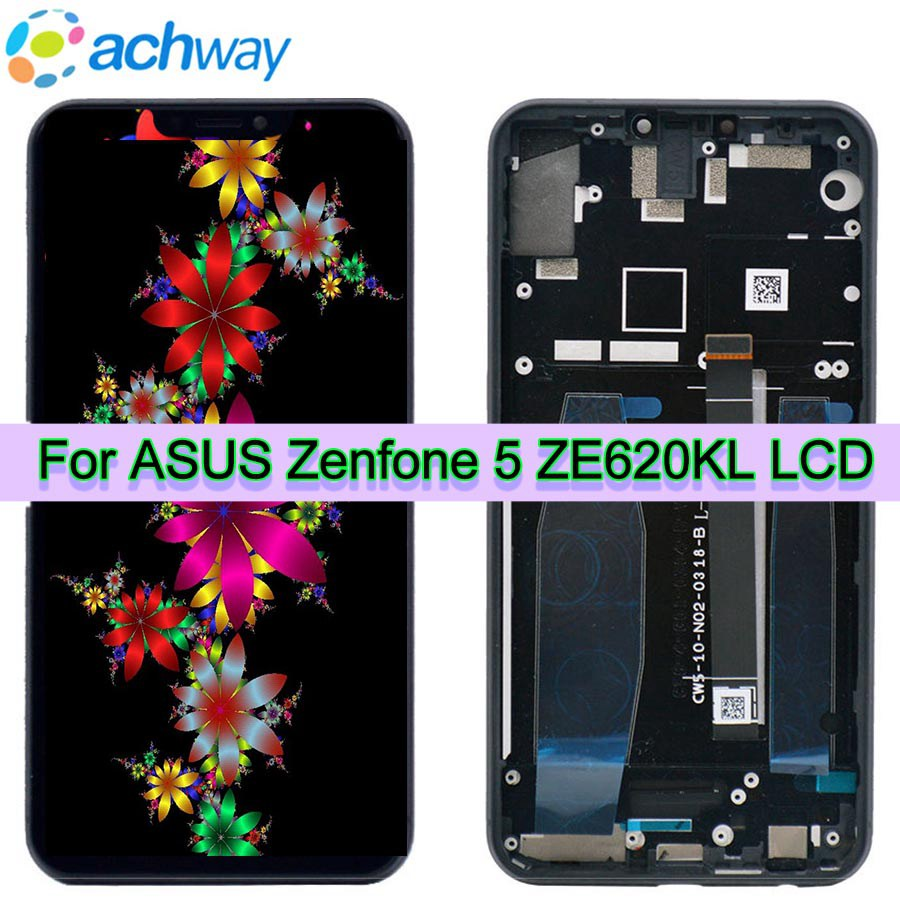 Per Asus Zenfone 5 2018 Gamme ZE620KL Display LCD Touch Screen Digitizer Assembly Lenovo Z5 di Ricambio Per ASUS 5z ZE620KL LCDPer Asus Zenfone 5 2018 Gamme ZE620KL Display LCD Touch Screen Digitizer Assembly Lenovo Z5 di Ricambio Per ASUS 5z ZE620KL LCD