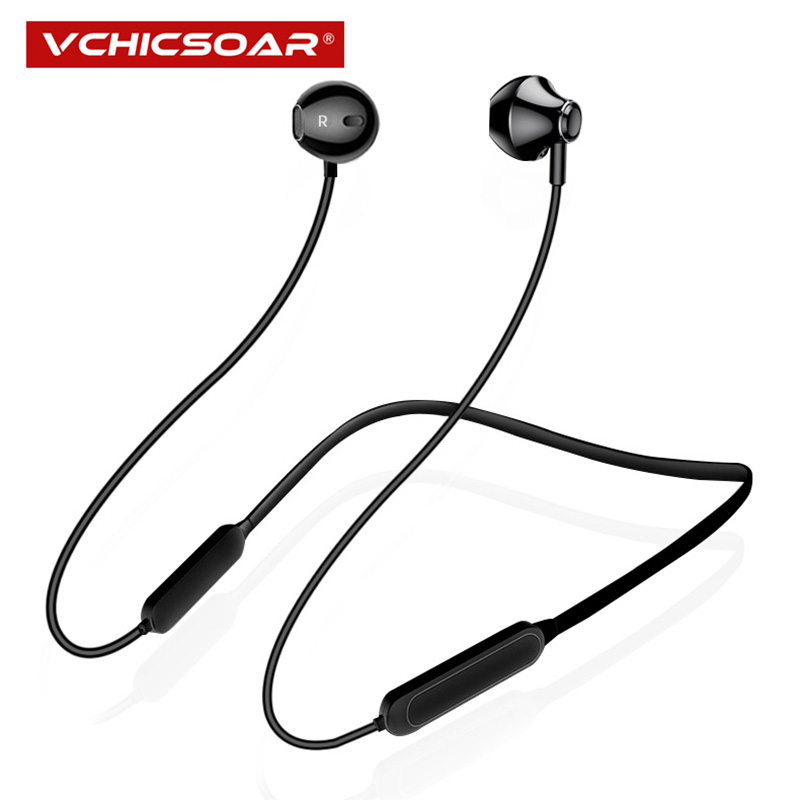 Vchicsoar X8 Sports Bluetooth Earphones Wireless Headphones V4.2 Stereo Bass Neckband Headset Earbuds with Mic for iPhone xiaomi цена