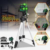 360 Degree 12 Line 3D Green Laser Level Self Leveling Vertical & Horizontal Cross Leve Super Powerful green Laser Beam